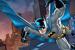 Batman Comic Character