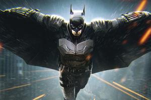 Batman Coming 4k Artwork Wallpaper