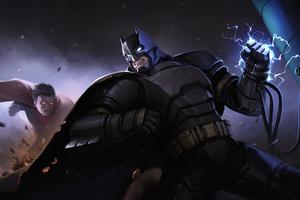 Batman Coming Artwork 4k