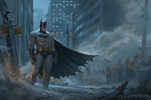 Batman Conceptual Art
