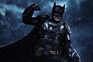 Batman Cosplay 4k