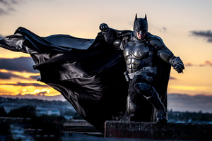 Batman Cosplay 5k 2020 Wallpaper