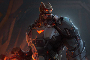 Batman Cyber Artwork