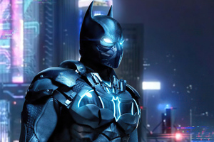 Batman Cyber Suit 5k