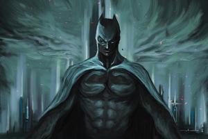 Batman Dark Art 4k Wallpaper