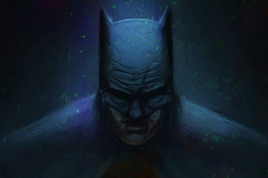 Batman Dark Art Knight