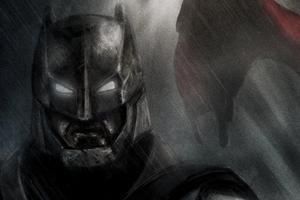Batman Dark Artwork