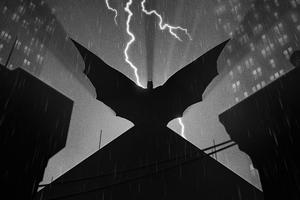 Batman Dark Cape Wallpaper