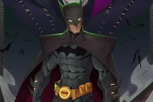 Batman Dark Knight King Wallpaper