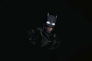 Batman Dark Minimal 8k Wallpaper