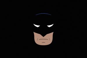 Batman Dark Minimal Wallpaper