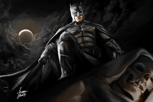 Batman Darknight Art