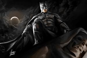 Batman Darknight Art Wallpaper