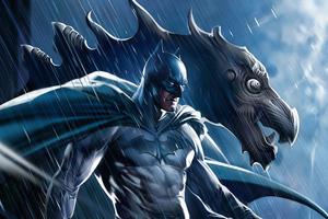Batman Dc Comic Art 4k Wallpaper