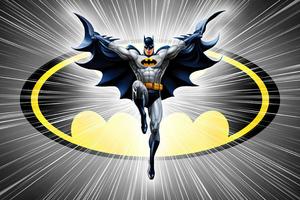 Batman Dc Comic Minimal 5k