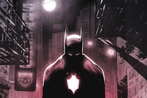 Batman Digital Art 4k
