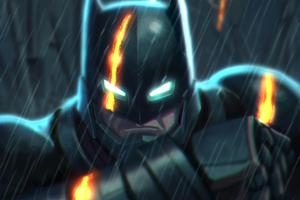 Batman Digital Artwork 4k