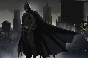 Batman Dreams In Darkness Wallpaper