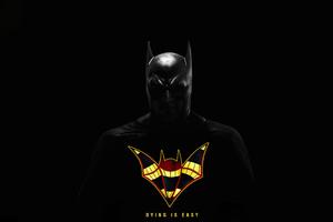 Batman Dying Is Easy 5k Wallpaper