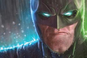 Batman Eyes Glow