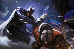 Batman Fighting4k