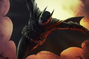 Batman Flying Cape