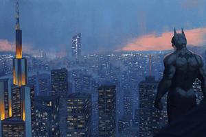 Batman Frankfrut City 4k