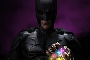 Batman Gauntlet 4k