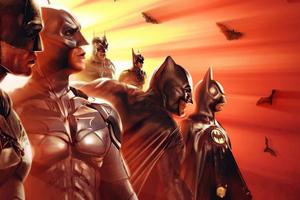 Batman Generations Wallpaper