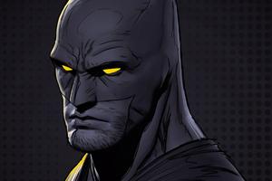 Batman Glowing Eyes Digital Art 4k Wallpaper
