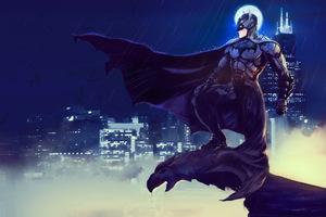 Batman Gotham 4k Artwork