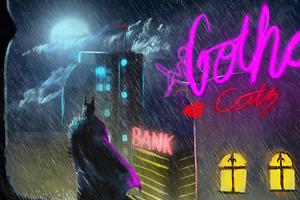 Batman Gotham Art New