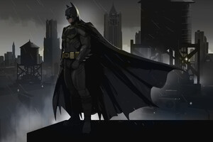 Batman Gotham Art