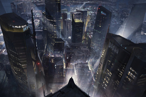 Batman Gotham City 4k New