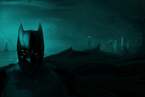 Batman Gotham City Alert Wallpaper