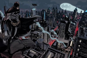 Batman Gotham City Dc Comics 4k