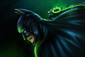 Batman Gotham Protector Art Wallpaper