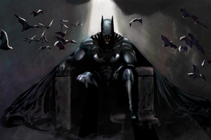 Batman Gothic Contemplation