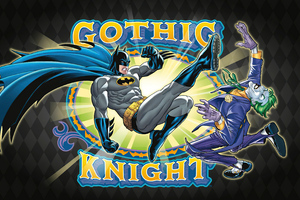 Batman Gothic Knight Wallpaper