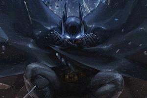 Batman Grave 4k