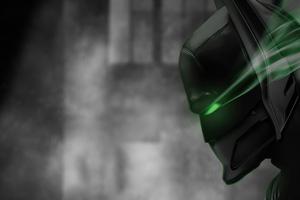 Batman Green Laser Eye