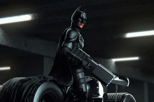 Batman Gun 4k Wallpaper