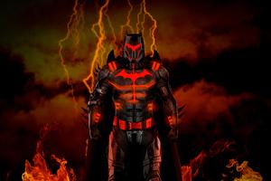 Batman Hellcat Armor Wallpaper