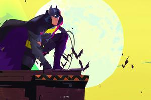 Batman Hero Comic Art Wallpaper