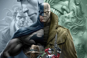 Batman Hush 4k Wallpaper