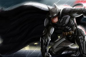 Batman Illustration 4k New