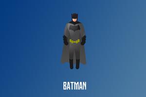 Batman Illustration 4k
