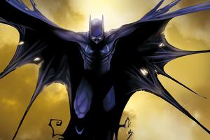 Batman Illustration 5k New