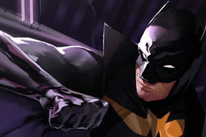 Batman In Action Wallpaper
