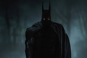 Batman In Dark 4k 2020